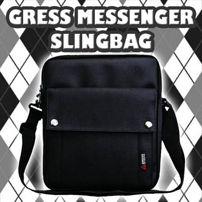[MEN BAG] GRESS MESSENGER SLINGBAG/TAS SELEMPANG PRIA