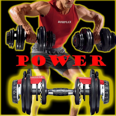 Bowflex SelectTech 552 Adjustable Dumbbells (Pair)optional stand bowflex package (INSTOCK)