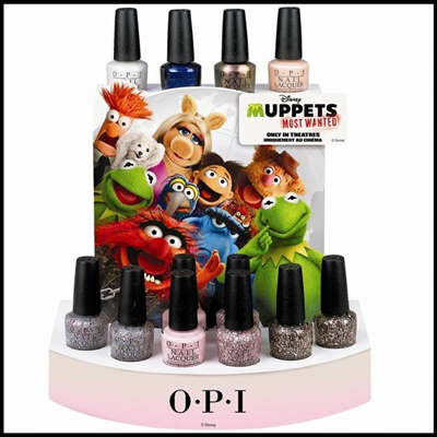[1 + 1 OFFER] AUTHENTIC OPI 2014 Collections - OPI Spotlight on Glitter 2014 | Most Wanted Muppets Spring 2014 | San Francisco 2013