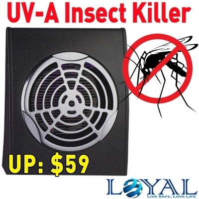 Electronic UV-A Insect Killer