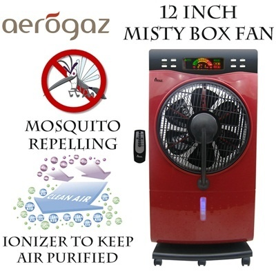Aerogaz 12 inch Misty Box Fan (AZ-1818BMF)