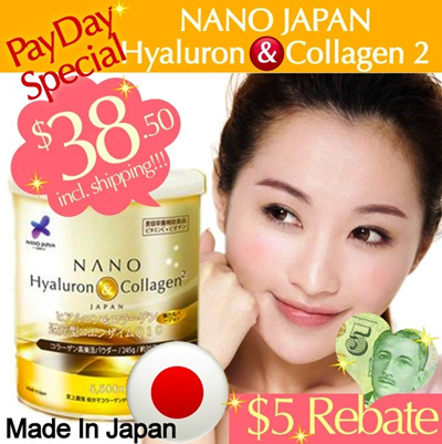 [$5 CASH BACK for FRIENDS PACKAGE!!!] ★RESULTS GUARANTEED★ 35 DAYS Upsize • 5500mg Upgraded COLLAGEN peptide ♥ Made In Japan