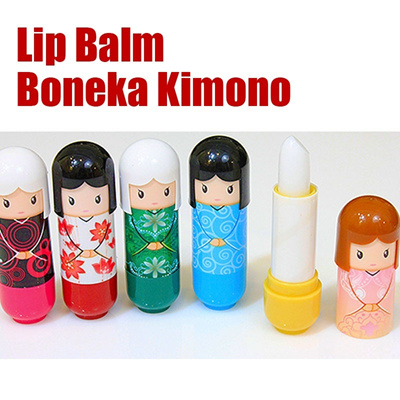 LIPBALM HARAJUKU / Lipstick Boneka Kimono ** SO CUT ** LIP Treatment