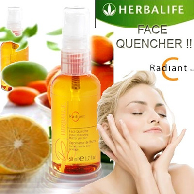 Radiant C Face Quencher - Helps rejuvenate dull tired-looking skin