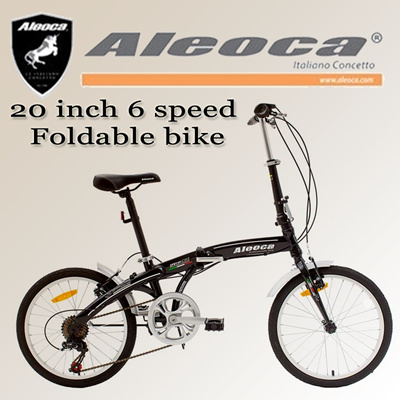 [Aleoca] AB2006-SPC12 20 inch 6 speed Specifiche foldable bike / folding bike/ singele speed / foldable bicycle / Shimano gear