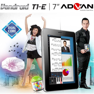 Advan Vandroid T1E|DUal Action For More