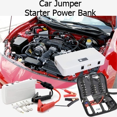 15000mAh Multi-Function Car Jump Starter Power Bank PowerBank Battery Portable Charger for Laptop Samsung Galaxy S5 S4 S3 Note 2 3 Tab iPhone 4 4S 5 5S 5C iPad Air Mini Sony HTC LG Redmi Hongmi Phone