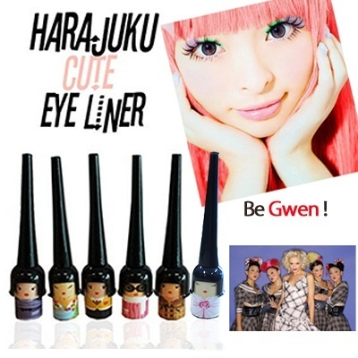 [CHEAPEST+FLAT PRICE★NEW 2 in 1 - Harajuku eyeliner]★★6 choice★the cheapest ★BE GWEN★