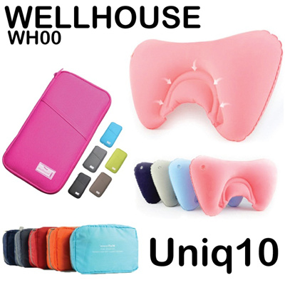 Wellhouse Inflatable Lumbar Back Support Pillow Air Cushion Office Car