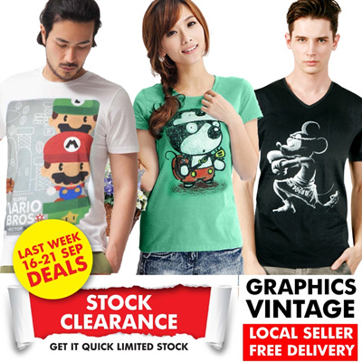 ★UNISEX-T GRAPHICS VINTAGE JAPANESE TOON★ Samurai Mario Sushi Captain America Mask Rider Batman Spiderman Bruce Lee  Mickey Minnie