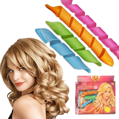 New Hair DIY Magic Hair Leverag Instant Curl Perming Hair Styling Roller Curler For Spiral Curls cur