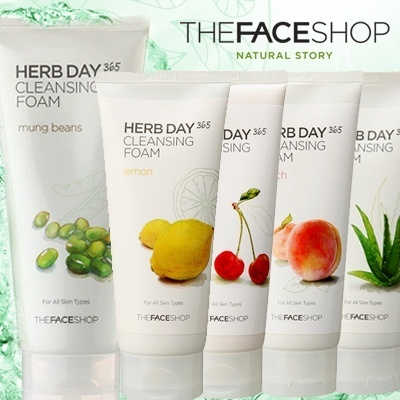 Cleansing Foam/Peach/mung bean/Lemon/Acerola/Aloe/Mint/Natural vegetable/Mild cleansers