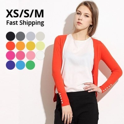 Fast shipping - Classic cut cardigan / jacket / top / blouse - B001
