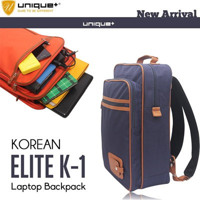 NEW ARRIVAL KOREAN LAPTOP BACKPACK ELITE K1 / FLORA LAPTOP BACKPACK