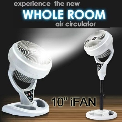 [iFan] AIR CIRCULATOR FLOOR/DESK TYPE 10* FAN WITH REMOTE - Best Seller In Singapore - Experience Ai