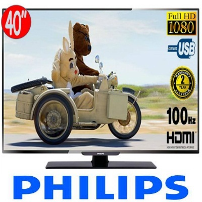 Philips 40PFA4509 40 Inch FULL HD LED TV. Digital Crystal Clear. Warranty Set. 1 Year International Warranty. Many attractive options available. Suitable for foreigners who want to bring overseas.