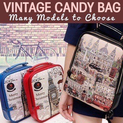 ##Vintage Candy Bag - Many Models To Choose##