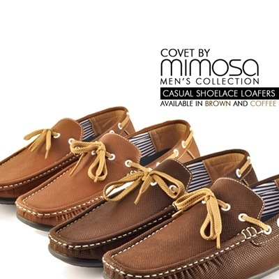 *Covet By Mimosa* Mens Casual Shoelace Loafers