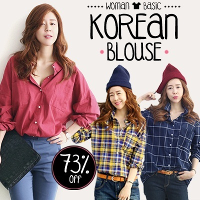SG Delivery  Korean long-sleeved shirt bottoming shirt vocational shirt  work clothing Buy 2 Free Shipping