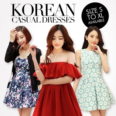 【20/8 Update】 ★ SG Based ★★ New Arrival ★★ CASUAL OFFICE KOREAN PRINTED WORK DRESS - S TO XL Size Available -- Free Shipping