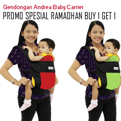 Gendongan bayi soft structured baby carrier Andrea_FREE SHIPPING SELURUH INDONESIA_