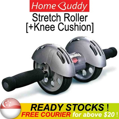 [HomeBuddy] Stretch Roller ★ Stocks in SG ★ / Power Stretch Abs Roller/ fitness roller/ abs wheel/
