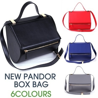★2014 Korea New Arrivals ★New Pandor box bag★Multi Shoulder bag★Tote bag★Cross Bag★ Soft-Touch Feel Classic Design Handbag