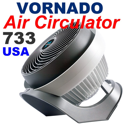★3M Face Mask Gift★VORNADO Air Circulator 733 /Air Circulating fan/Escape haze / Makes help Air purifier / Haze protection