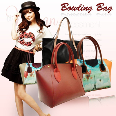 [NEW] **Bowling Bag** and **Vintage Bowling Bag** **Quincylabel Bag** MORE COLORS