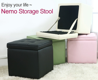 [BLMG_SG] Nemo Storage Stool★Storage box★Ottoman★Furniture★Singapore★Home★Sale★Cheap★Fast
