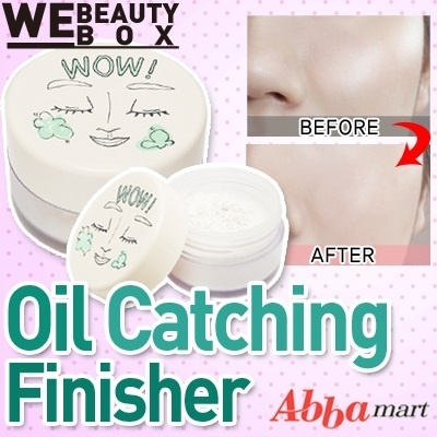 [62% OFF Special Deal Price] WOW! Oil catching finisher(15g)★For pore care Powder/Light texture give shine and hold oily feeling/Catching sebum/Powder Fact
