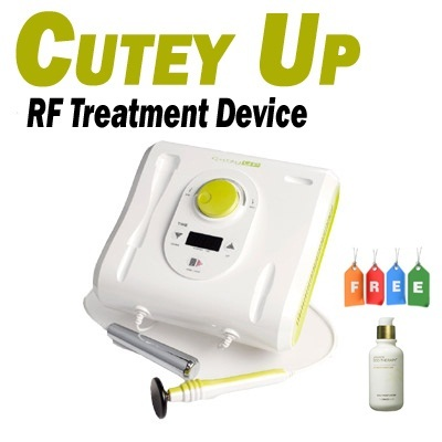 [Free Giveaways]Cutey UP RF Treatment Machine (Radio Frequency/Anti-Aging/Cellulite Care/CE/KFDA/Korea)
