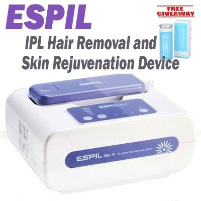 [Free Giveaways]ESPIL (IPL/Hair Removal/Skin ejuvenation/CE/KFDA/Korea)