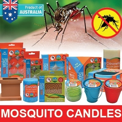 [SELLING FAST!][ANTI DENGUE] Tealight Candles From Australia Waxworks/100% effective/non toxic/lemongrass smell/for indoor and outdoor/No.1 in Australia