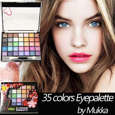 [THE CHEAPEST EVER]★NEW COLORS 8 / 15 / 35 eyepallets by MUKKA★HIGH FASHION colors★★ ★