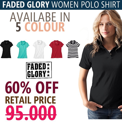 !AUTHENTIC USA BRAND! POLO WOMEN 5 COLOURS! CASUAL/OFFICE STYLE! LIMITED STOCK NO MORE RESTOCK! GRAB IT FAST! 60% OFF