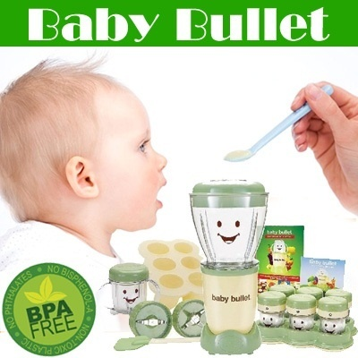 Baby Bullet Blender- to be a wonderful mother!