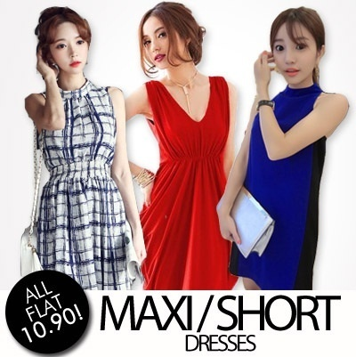 ★ SG Based  ★★ FLAT PRICE $10.90 FOR ALL★★ 【28/8 Update】  Best ★★ Selling Maxi Dress ★★ CASUAL SHORT LONG DRESS JUMPER ROMPER DRESSES - FREE SHIPPING