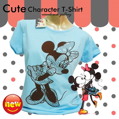 [THE CHEAPEST ITEMS] ★★WOMEN CUTE COLORFULL CHARACTER T-SHIRT ★★