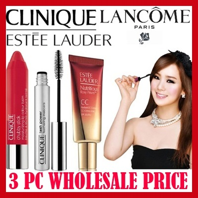 #beautysale WHOLESALE PRICE!! 1+1+1+FREE POUCH MIX AND MATCH Mascara  full size Lipstick/Gloss Foundation/ ESTEE CLINIQUE DIOR