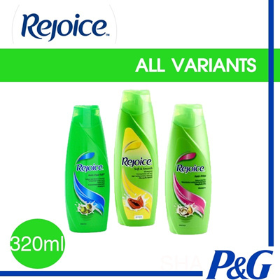 REJOICE 320ml - COMPLETE VARIANTS to SUITS YOUR HAIR TYPES