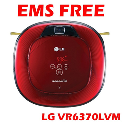 EMS Free delivery [2013.11 Latest Model]LG VR6370LVM Robotking dual Eye 2.0 / English voice/ robotvacuum / robot