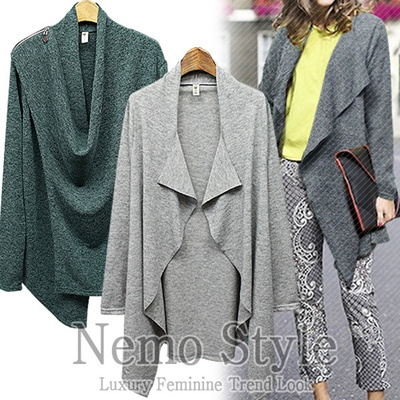 [NEMO]Cardigan-Hot trendy design/Office look/Made in our own factory in KOREA