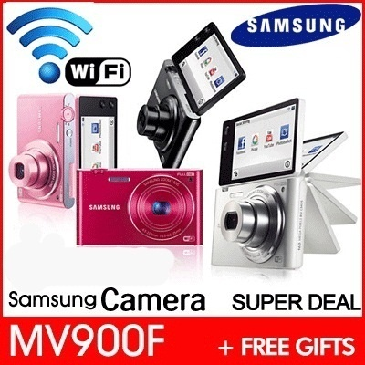 [Weekly Best Deal] [SAMSUNG] MV900F / popular wifi smart camera + Free Gifts [4GB Memory + MV