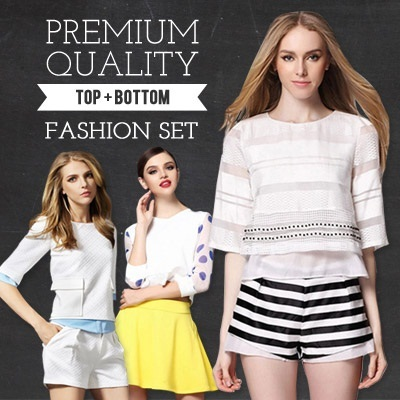 [Lowest Price Guarantee] New arrival Europe Fashion Now Every Item Includes Top + Bottom !!!