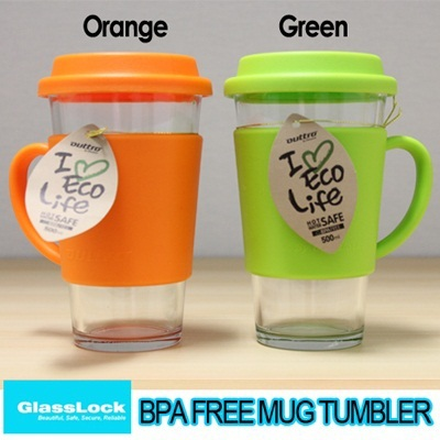 [Glasslock] Tempered Glass Mug-Tumbler **SUPER SALE**