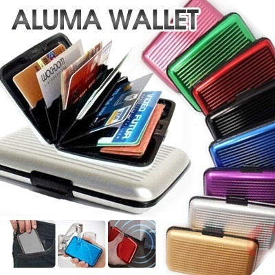 [HEEgrand] FREESHIPPING Aluma Wallet Colour Card Holder ♥As Seen On TV903