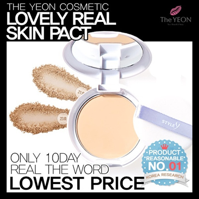 PEARL Poweder Gives NATURAL and LUNIMOUS Look ★ [The YEON] Style Y Lovely Real Skin Pact SPF50+ PA+++