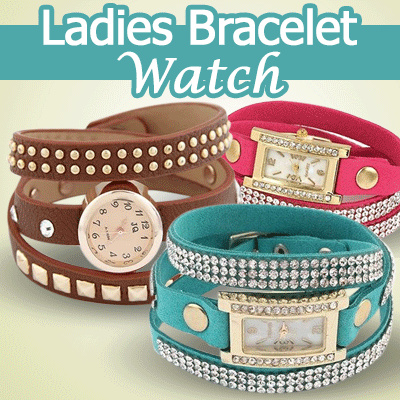 Jam Tanga Gelang * Ladies Bracelet Watch * 3 Styles