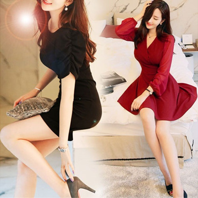 Made in Korea 2014 Design Korean dress / [UP TO 75% OFF - best selling in Korean Dress Collection] S/S Customer Satisfaction / over 100type women fashion women clothing